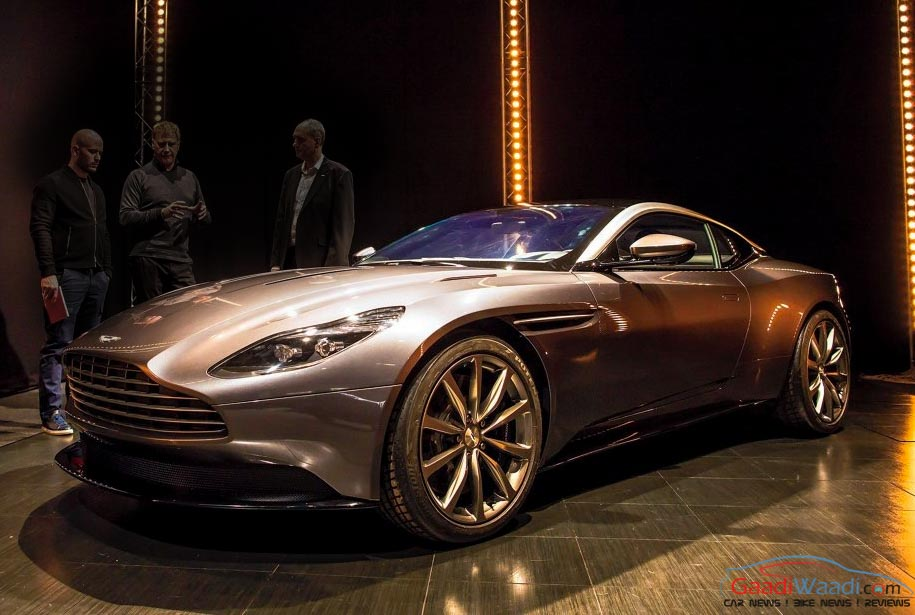Aston Martin DB11 Makes Debut at 2016 Geneva Motor Show - Gaadiwaadi ...