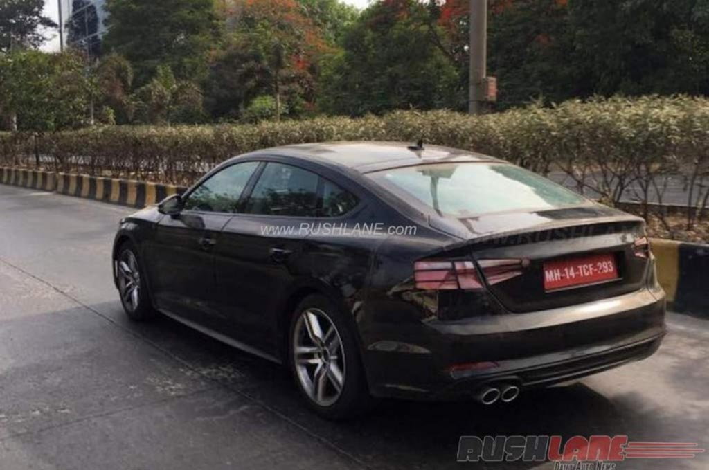 2017 Audi A5 Sportback Spied Testing in India ahead of Global Debut ...