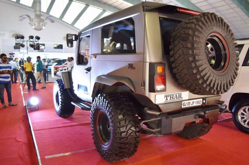 Mahindra Thar Daybreak Edition with Solid Roof 3